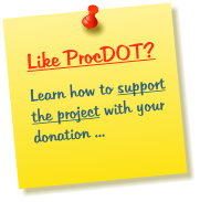 Like ProcDOT? Learn how to support the project with your donation ...